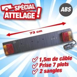 outiror rampe de portage velo abs largeur 73cm 134011180041