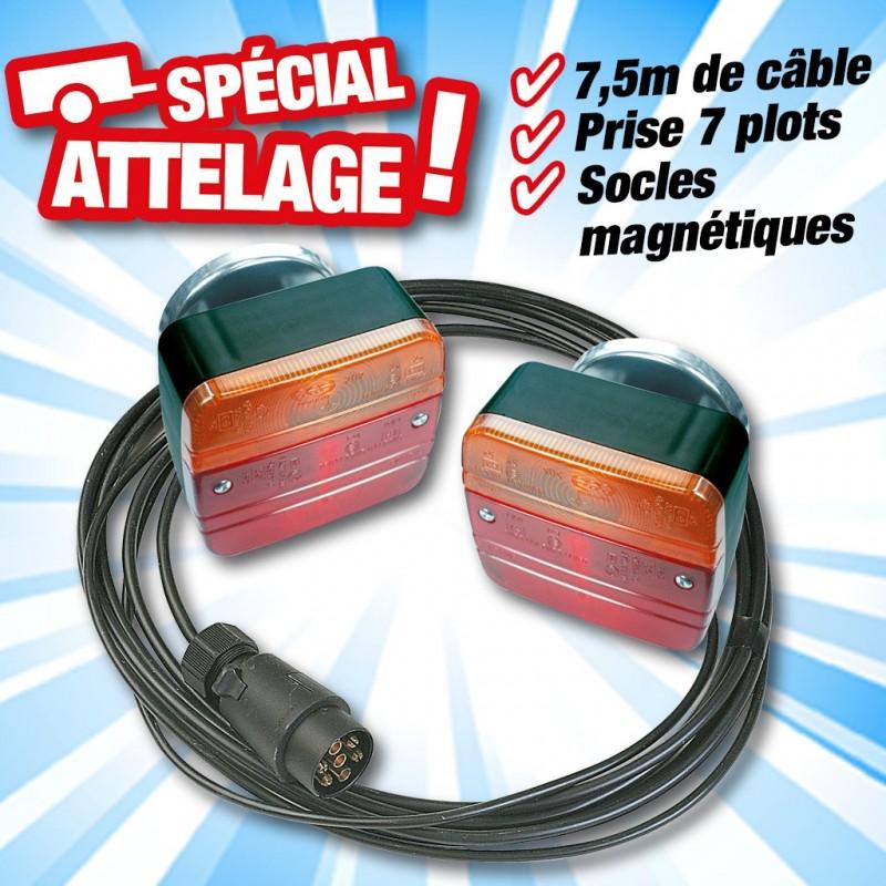 outiror 2 lanternes magnetiques largeur 2 50m cable 7m 134011180043