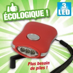 outiror lampe dynamo 3 leds 136011180052