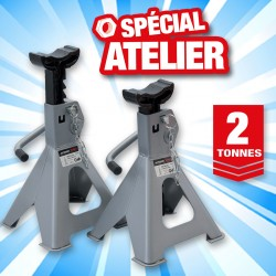 outiror lot 2 chandelles a cremailleres 2t
