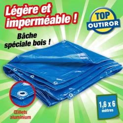 outiror bache bois legere 1 6x6m 111010180001