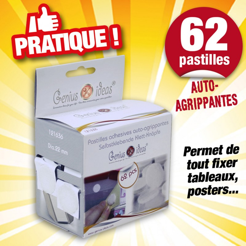 Outiror - Pastilles adhesives