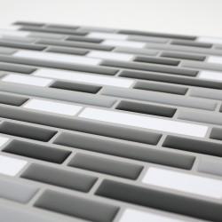Outiror - Carrelage Adh 25x25cm - Gris Mosaic 03