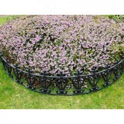 barrières de jardin forme arrondie par 6