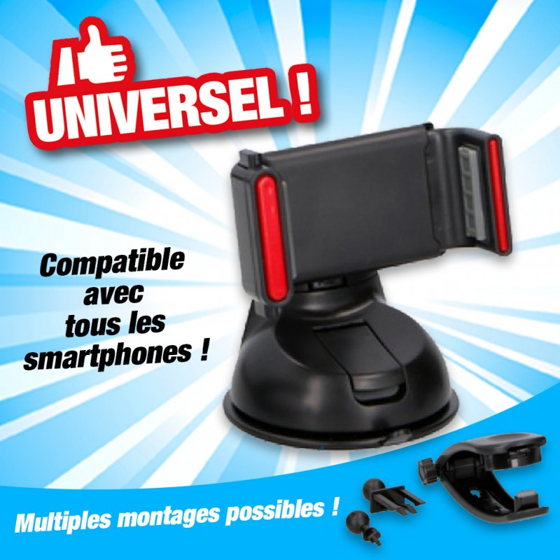 OUTIROR - Support téléphone portable universel
