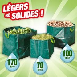 Outior - Lot de 3 sacs pour le jardin.