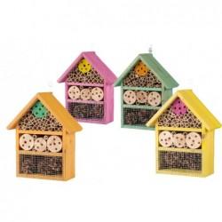 maison pour insectes coloris assortis