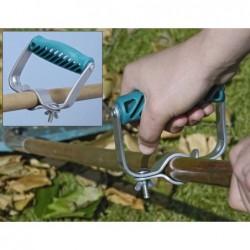 poignée ergonomique pour outil de jardin