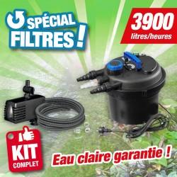 Outiror - Kit de filtration bassin sous pression BIOPRESSURE II 10000 PlusSet