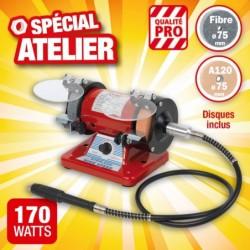outiror-touret-a-meuler-pro-75mm-150w-avec-flexible-46002180309