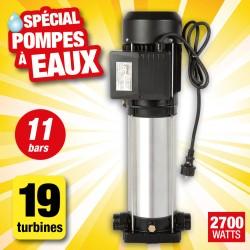 Outiror - pompe surface multicellul 10 turbines verticale