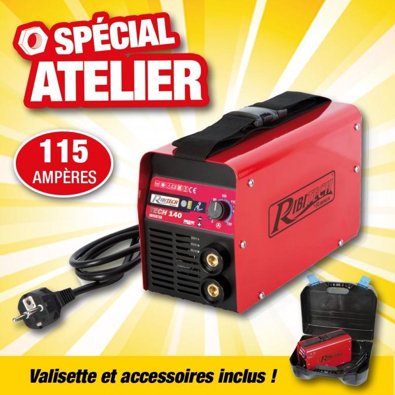 outiror-poste-souder-inverter-tech140-115-amperes-complet-en-malette-46002180398