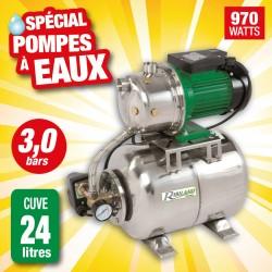 Outiror - pompe surpresseur 24l jet101 tout inox