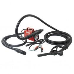 Outiror - kit pompe gasoil 12v 40l/min + tuyau + crepine et pistolet - 01
