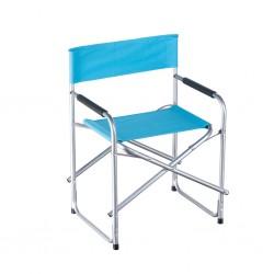 Outiror - Chaise de camping pliable en acier