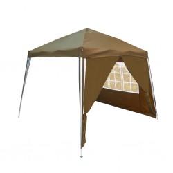 Outiror - Chapiteaux pliable dim 3x3x2,45m beige