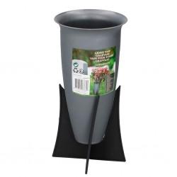 Outiror - Vase pour tombe Diamètre 12,5 x 22,5cm
