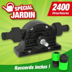 Outiror - Minipompe pour perceuse en PP Diam 8mm