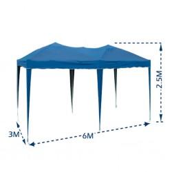 Outiror - Tente de jardin pliable 3x6m - 05