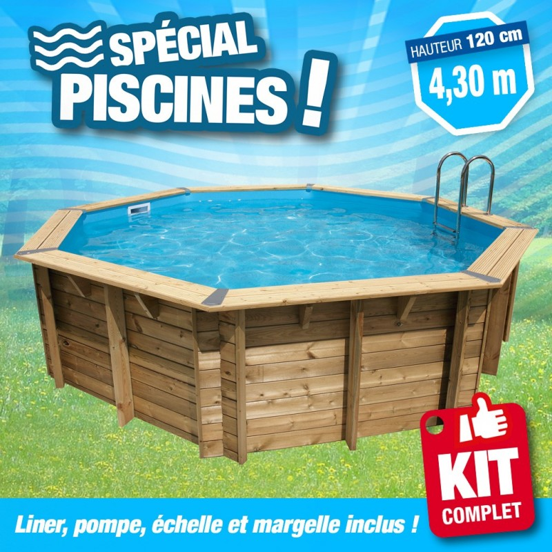 piscine hors sol ovale Saint-François