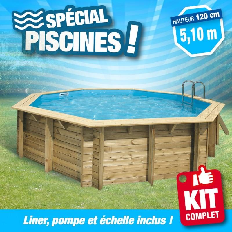piscine hors sol rectangulaire Fouesnant