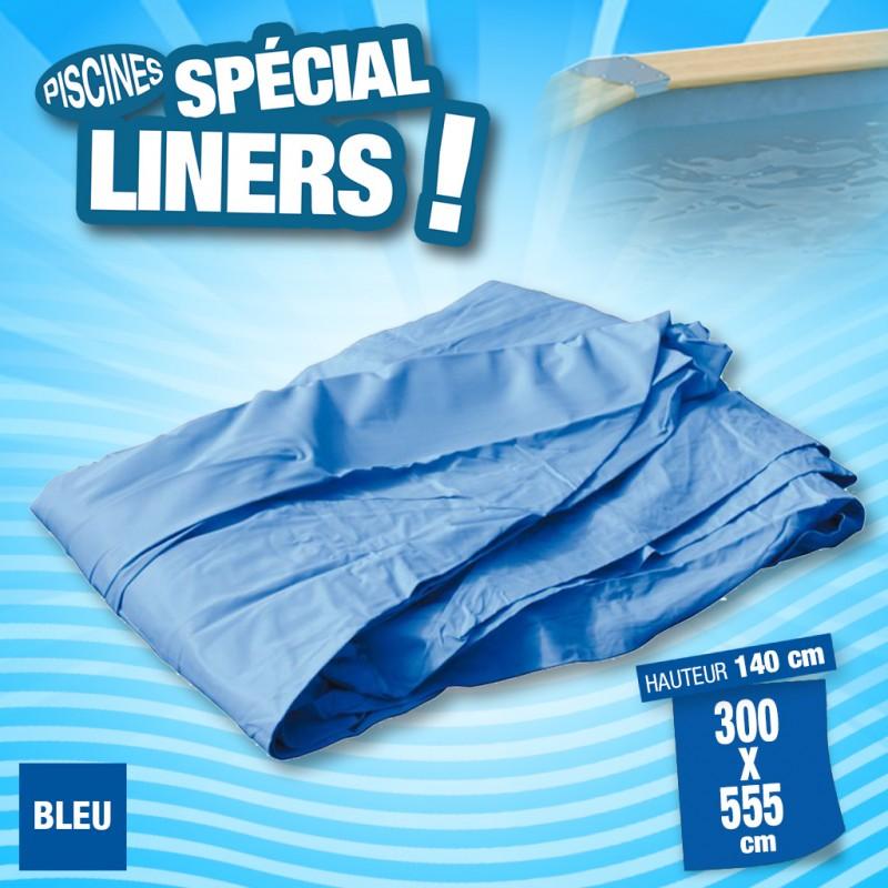 Outiror - Liner 75/100ème Bleu 300x555 x H 140cm