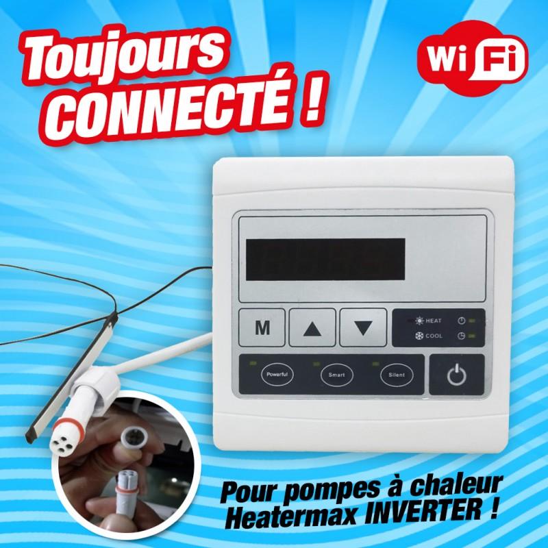 Outiror - Boîtier WIFI pour pompe à chaleur Heatermax Inverter - 01