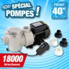 Outiror - Pompe Poolmax TP120 - 0-90 kw - 1-20 HP - Qmax 18.000 l/h