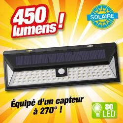 outiror - Projecteur solaire 80 LED - 1