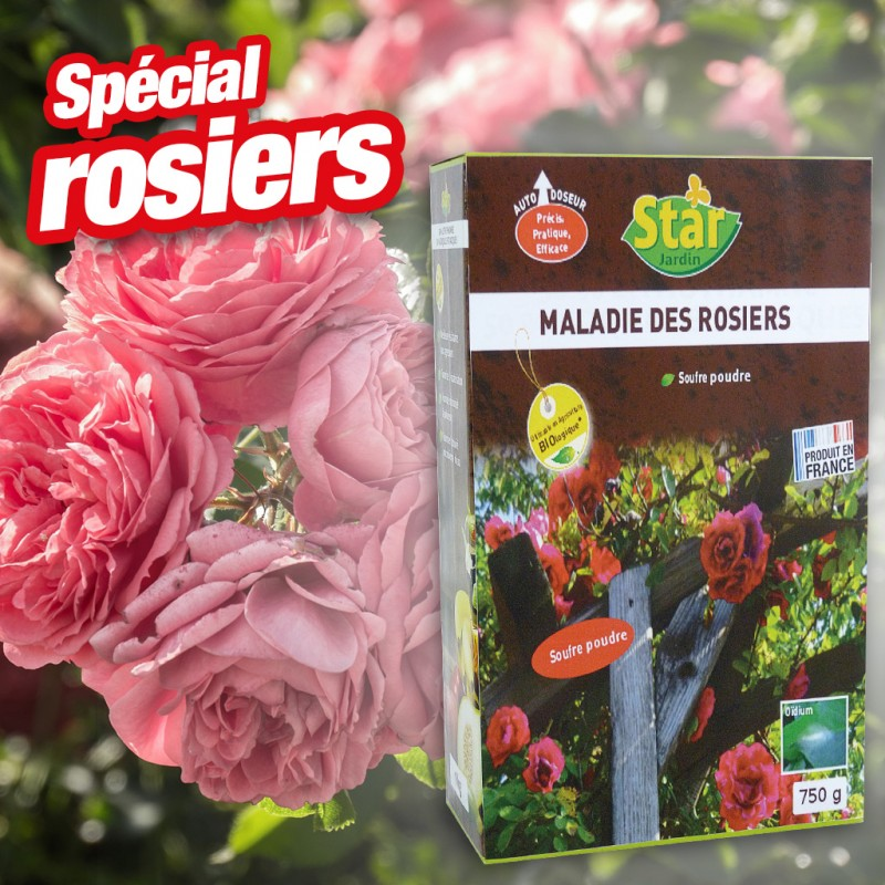 Outiror - Soufre maladies des rosiers 750 gr