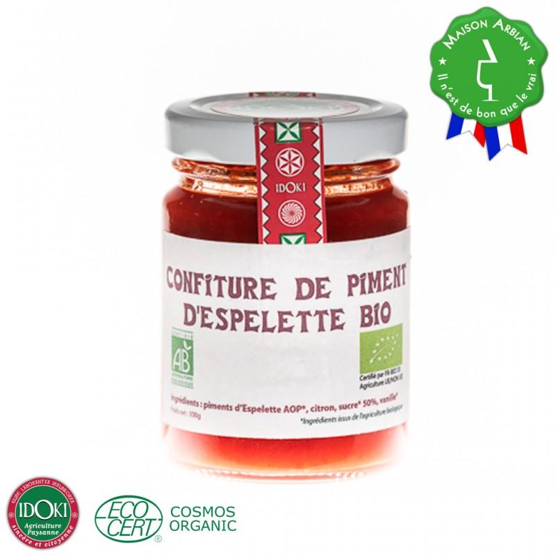 Confiture de piment d'Espelette Bio
