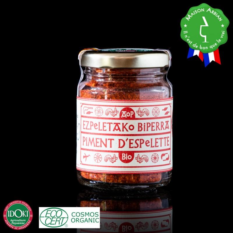 Piment d'Espelette en poudre