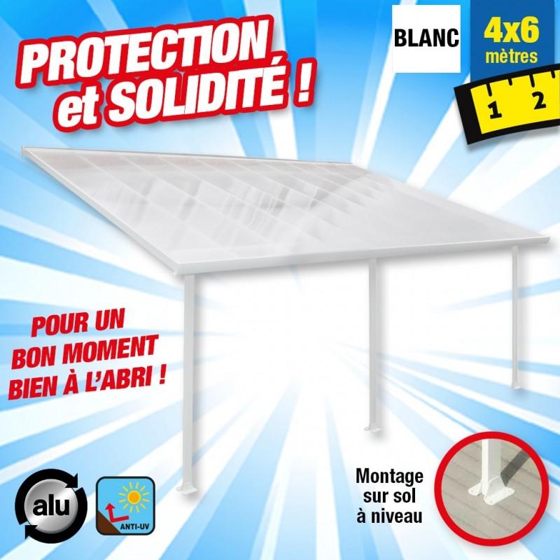 outiror Toit terrasse alu polycarbonate 4x6m 176009190010