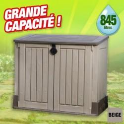 outiror Coffre jardin resine Multifonctions 845L 176009190023