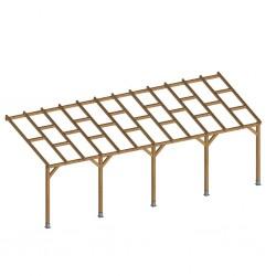 outiror Toit terrasse bois 3x7 4 m 176009190039 2