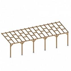 outiror Toit terrasse bois 3x9 2 m 176009190041 2