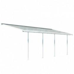outiror Toit terrasse alu polycarbonate Feria 37 blanc 176009190056 2