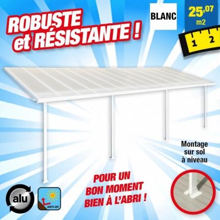outiror Toit terrasse alu polycarbonate Feria 38 blanc 176009190057