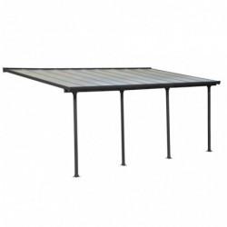 outiror Toit terrasse alu polycarbonate Feria 36 gris 176009190059 2