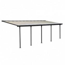 outiror Toit terrasse alu polycarbonate Feria 37 gris 176009190060 2