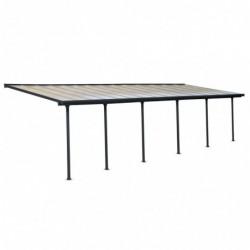 outiror Toit terrasse alu polycarbonate Feria 38 gris 176009190061 2