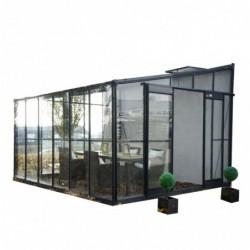 outiror Serre jardin verre trempe Solarium 9 6m2 176009190069 2