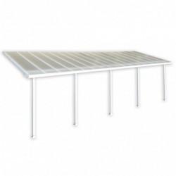 outiror Toit terrasse alu polycarbonate Feria 39 blanc 176009190072 2