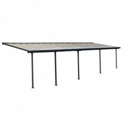 outiror Toit terrasse alu polycarbonate Feria 39 gris 176009190074 2