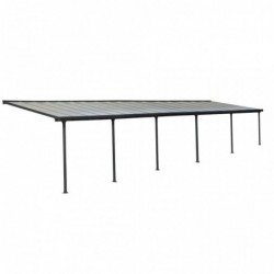 outiror Toit terrasse alu polycarbonate Feria 310 gris 176009190075 2