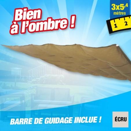 outiror Toile ombrage CouvTerrasse 3x5 4 m ecru 176009190082