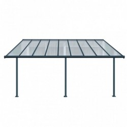 outiror Toit terrasse alu polycarbonate Elite 35 gris 176009190086 2