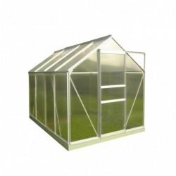 outiror Serre jardin polycarbonate Diamant 4.8m2 176009190111 2