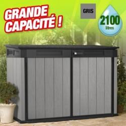outiror Coffre jardin resine Brossium 2100L 176009190129
