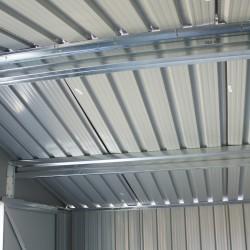 métal - Bois vieilli 64 - 2,4 m² - gris